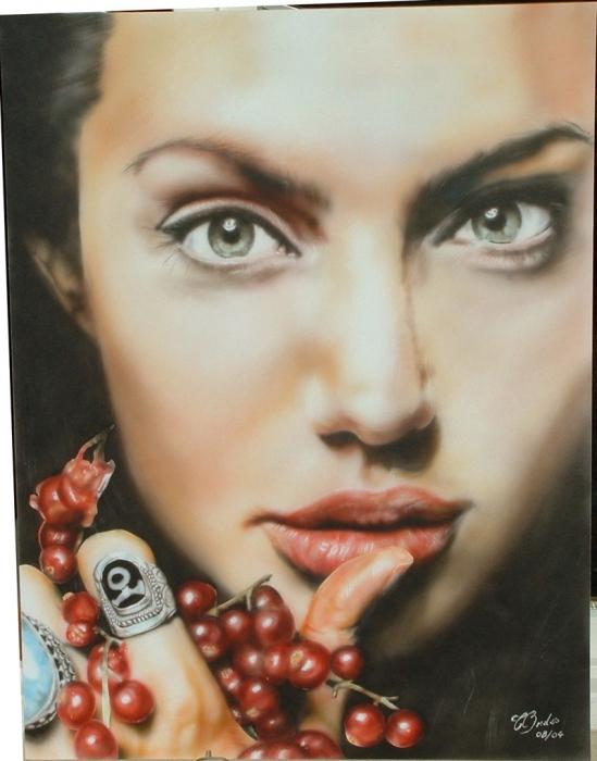 Angelina Jolie by theureu